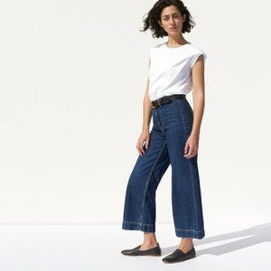 NWT Everlane Limited Edition Wide Leg Crop Pant
